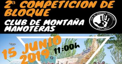 II Competición de Bloque CMMANOTERAS